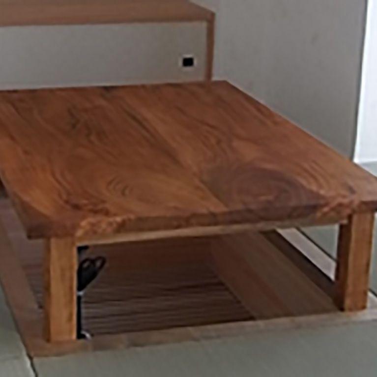 山桜のこたつテーブル